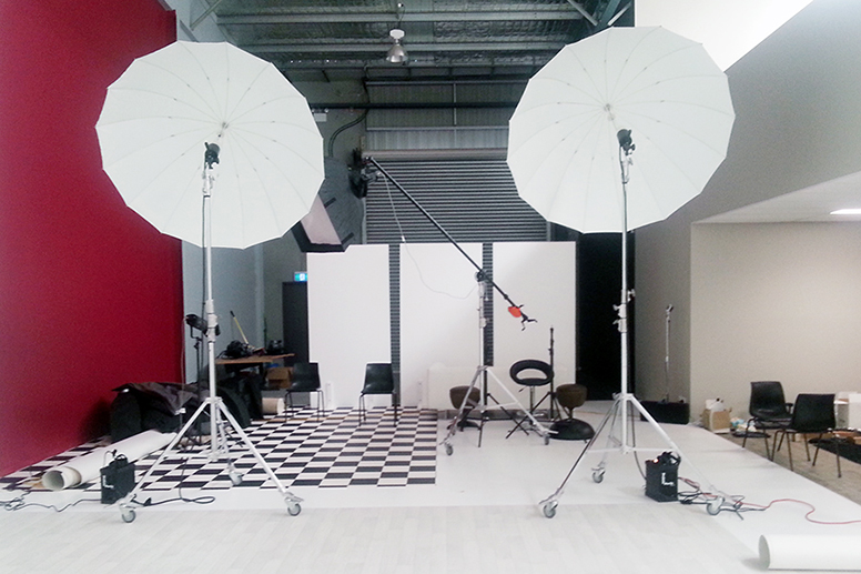 Our set up for a large group shoot we have coming up